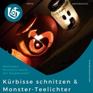 Kürbisse schnitzen/Monster&Teelichter Hier PDF runterladen