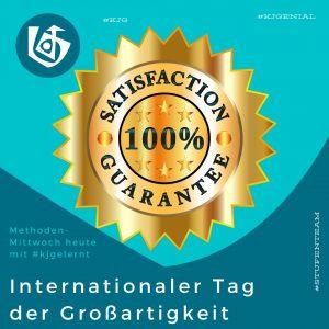 Internationaler Tag der Großartigkeit Hier PDF runterladen